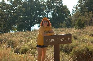 Cape Royal Sign