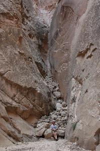 Cottonwood Canyon Narrows