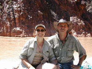 Mike & Patty on the River