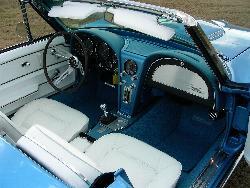 Barry Breaux Corvette Interior