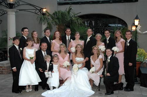 Courtney~Shane Wedding Party